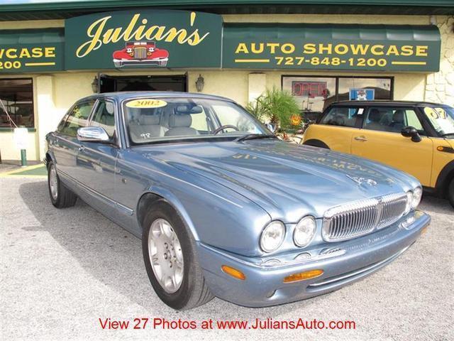 Julians Auto Showcase >> 2002 Jaguar XJ8 Vanden Plas for Sale in New Port Richey ...