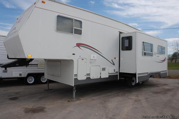2002 JAYCO EAGLE 281rls, Fifth Wheel