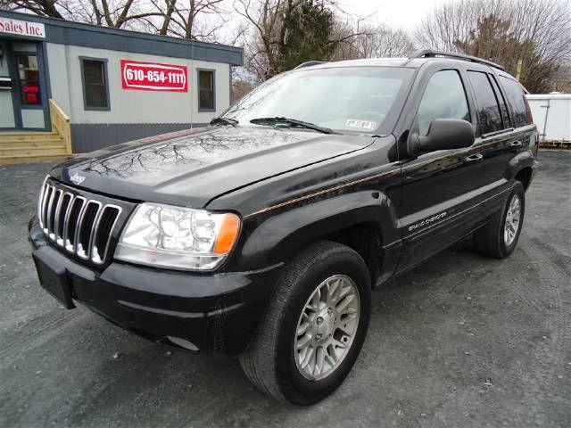 2002 jeep grand cherokee limited for sale in pen argyl pennsylvania. Cars Review. Best American Auto & Cars Review