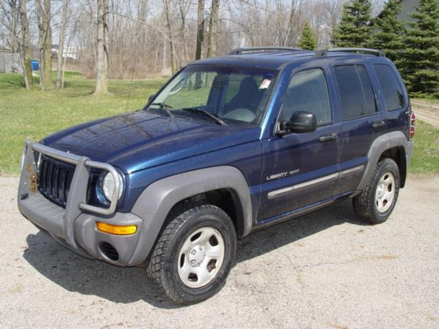 2002 jeep liberty sport for sale in charlotte michigan classified. Black Bedroom Furniture Sets. Home Design Ideas