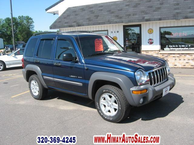 2002 jeep liberty sport for sale in pease minnesota classified. Black Bedroom Furniture Sets. Home Design Ideas
