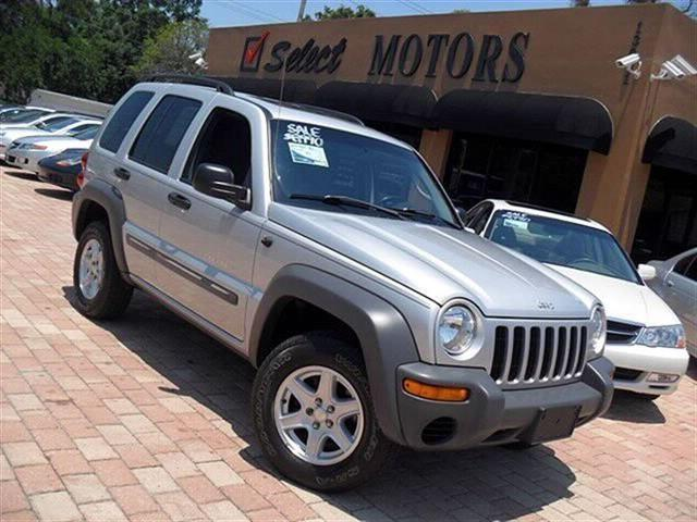 2002 jeep liberty sport for sale in tampa florida classified. Black Bedroom Furniture Sets. Home Design Ideas