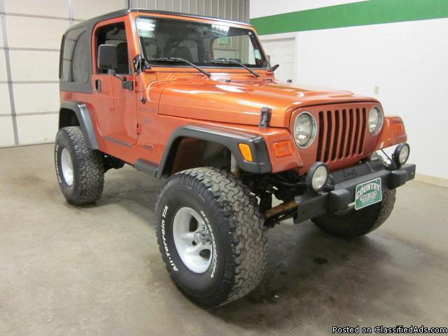 2002 jeep wrangler 4 0 liter 5 speed 4x4 for sale in fort lupton colorado classified. Black Bedroom Furniture Sets. Home Design Ideas