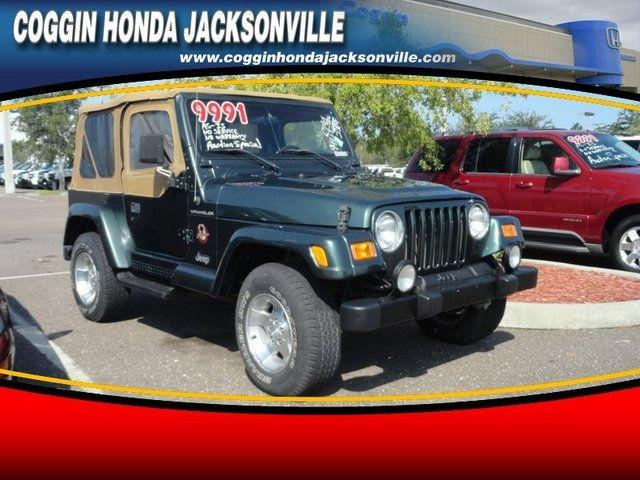 2002 jeep wrangler sahara for sale in jacksonville florida classified. Black Bedroom Furniture Sets. Home Design Ideas