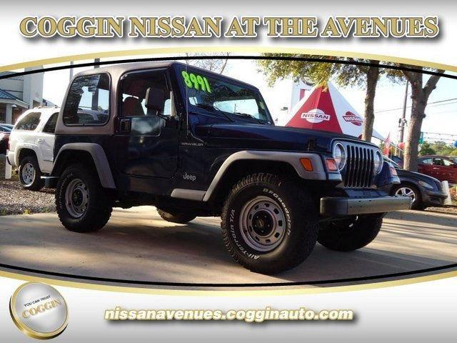 2002 jeep wrangler se for sale in jacksonville florida classified. Black Bedroom Furniture Sets. Home Design Ideas