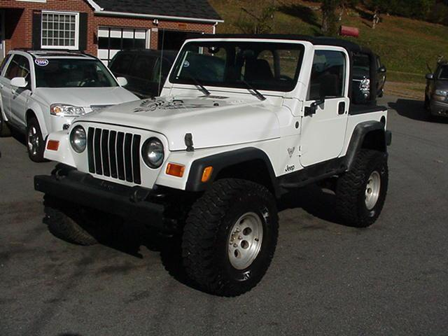 2002 jeep wrangler sport 2002 jeep wrangler sport car for sale in jefferson nc 4365024197. Black Bedroom Furniture Sets. Home Design Ideas