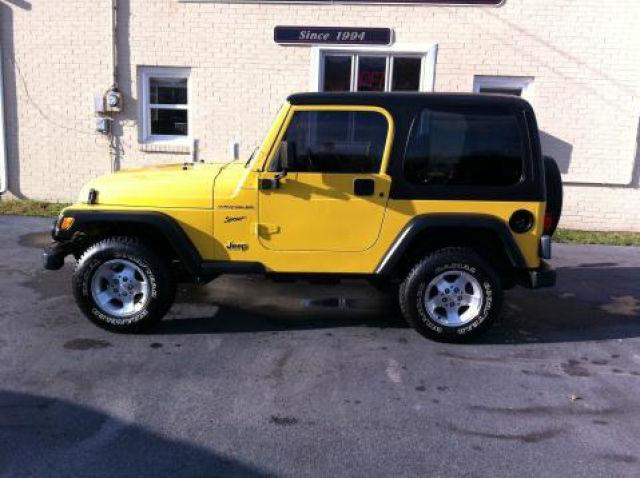 2002 jeep wrangler sport for sale in berea kentucky classified. Black Bedroom Furniture Sets. Home Design Ideas