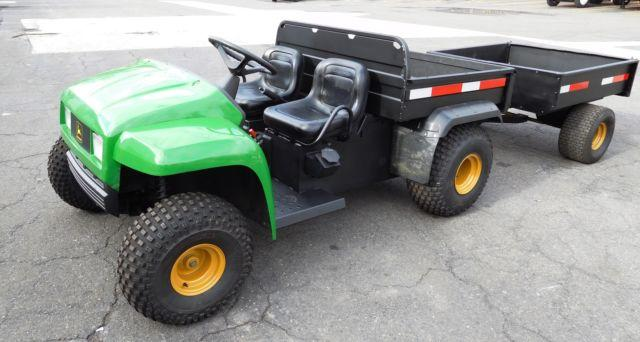 2002 John Deere 4x2 Gator And Trailer For Sale In