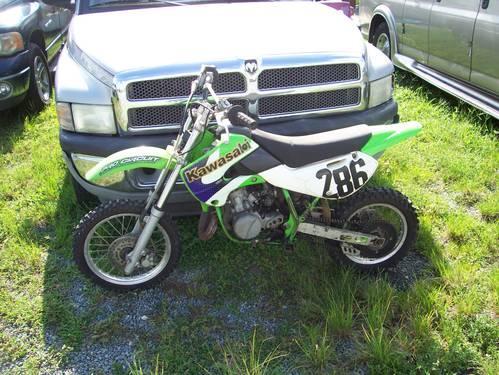 2002 Kawasaki 75CC Dirt Bike