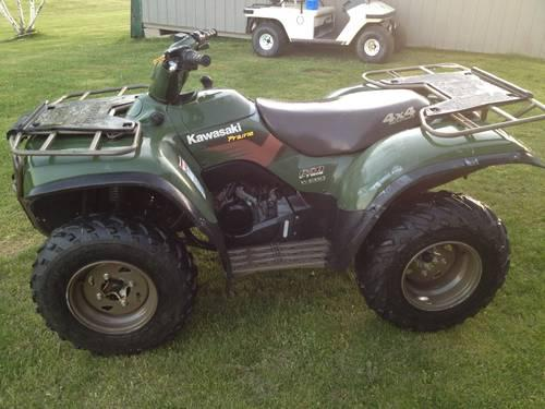 kawasaki prairie 360 4x4 for sale in Pennsylvania Classifieds & Buy ...