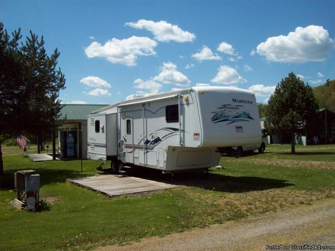 2002 Keystone Montana 33ft Fifth Wheel For Sale In