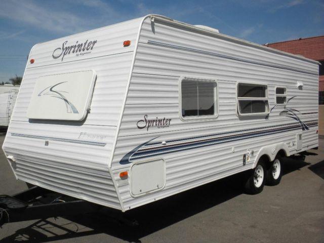 2002 KEYSTONE SPRINTER 248, TRAVEL TRAILER for Sale in ...