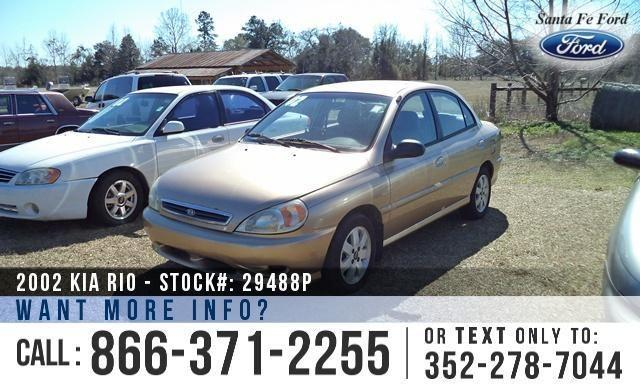 2002 Kia Rio - 100K Miles - Finance Here!