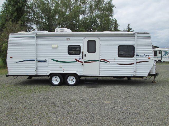 2002 Komfort 25ft travel trailer with bunk beds Sale