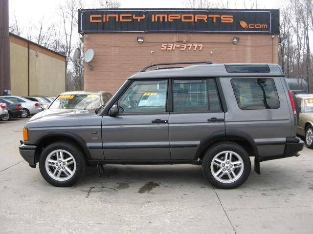 2002 land rover discovery series ii se for sale in loveland ohio classified. Black Bedroom Furniture Sets. Home Design Ideas