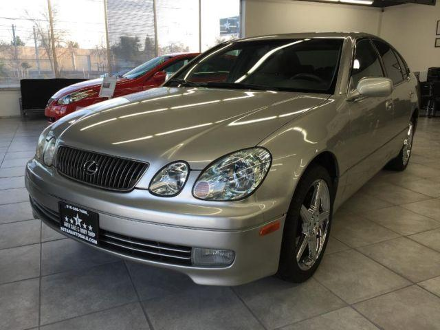 2002 lexus gs300 luxury sedan clean car runs good for sale in gold river california. Black Bedroom Furniture Sets. Home Design Ideas