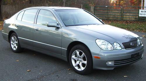 2002 Lexus Gs300 Sedan Two Owner Clean Carfax Report
