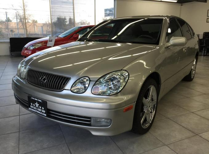 2002 lexus gs300 silver family size reliable nice rims all leather for sale in gold river. Black Bedroom Furniture Sets. Home Design Ideas