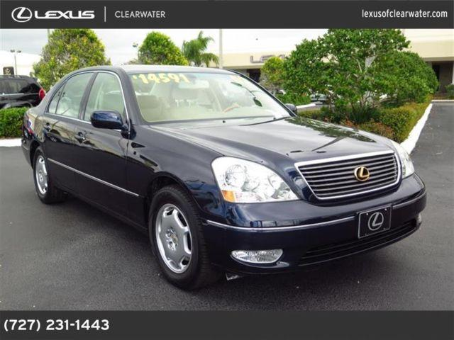 2002 lexus ls 430 for sale in clearwater florida classified. Black Bedroom Furniture Sets. Home Design Ideas