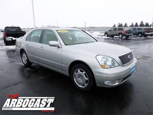 2002 lexus ls sedan 430 for sale in troy ohio classified. Black Bedroom Furniture Sets. Home Design Ideas