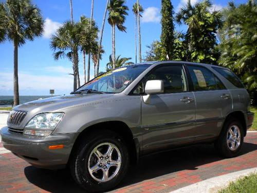 2002 lexus rx 300 coach edition for sale in dunedin. Black Bedroom Furniture Sets. Home Design Ideas
