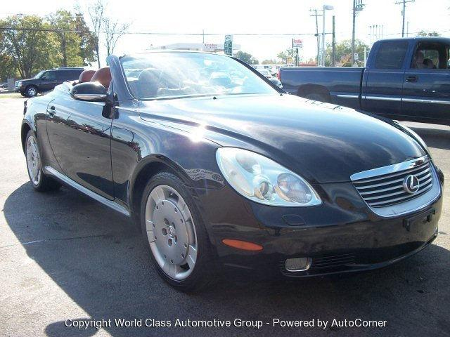 2002 lexus sc 430 for sale in richmond virginia classified. Black Bedroom Furniture Sets. Home Design Ideas