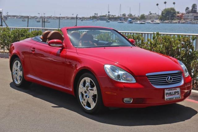 2002 lexus sc 430 base 2dr convertible for sale in newport beach california classified. Black Bedroom Furniture Sets. Home Design Ideas
