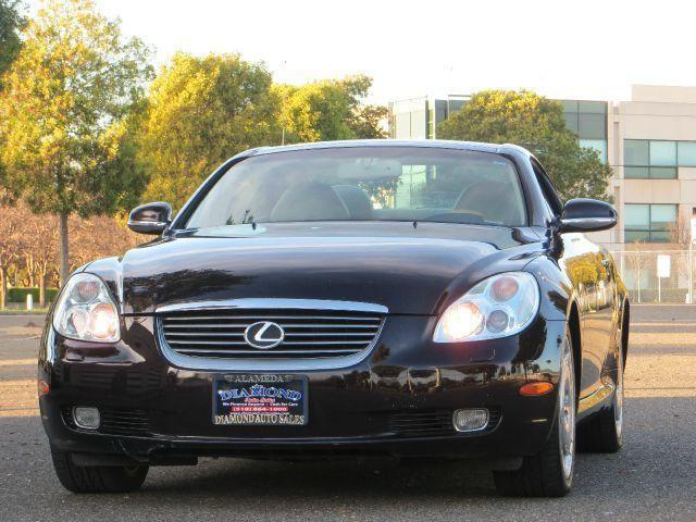 2002 lexus sc 430 convertible convertible for sale in alameda california classified. Black Bedroom Furniture Sets. Home Design Ideas