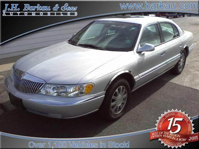 2002 Lincoln Continental For Sale In Cedarville Illinois