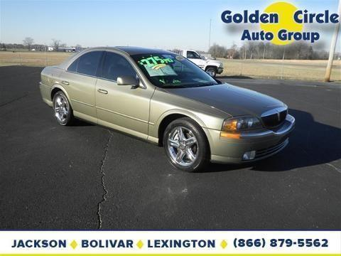 2002 lincoln ls 4 door sedan for sale in jackson tennessee classified. Black Bedroom Furniture Sets. Home Design Ideas