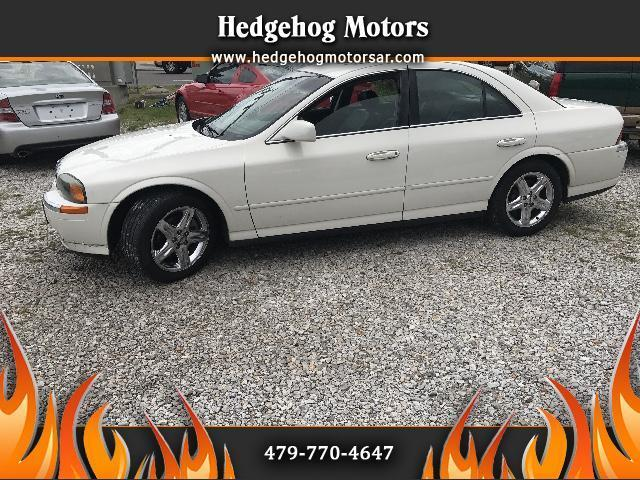 2002 Lincoln LS Base 4dr Sedan V8
