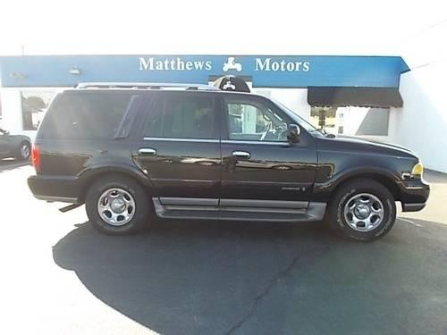 2002 Lincoln Navigator Sport Utility 4wd For Sale In