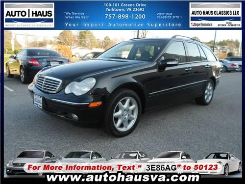 2002 mercedes benz c class 4 dr wagon c320 for sale in for Mercedes benz c class wagon for sale