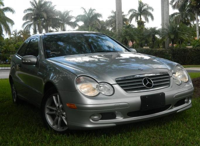 2002 mercedes benz c230 coupe for sale in miami florida for Mercedes benz 2002 c230