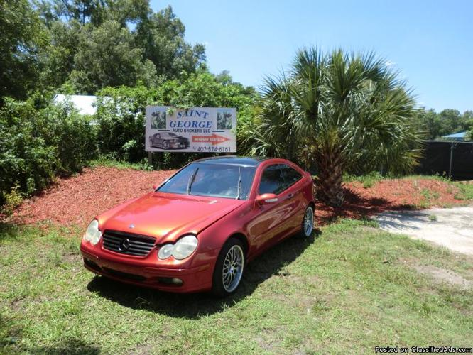 2002 mercedes benz c230 kompressor for sale in orlando for Mercedes benz 2002 c230