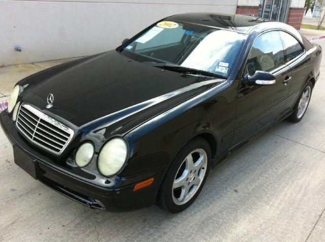 2002 mercedes benz clk class 430 for sale in dallas texas. Black Bedroom Furniture Sets. Home Design Ideas