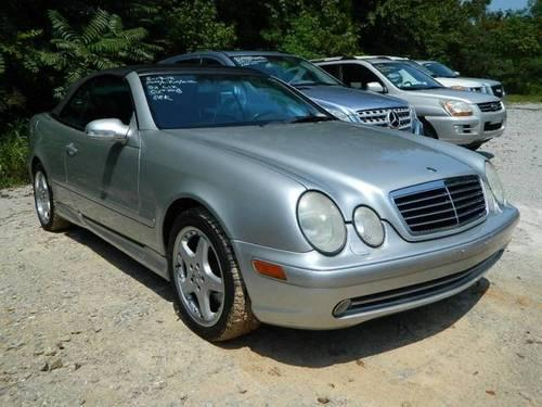 2002 mercedes benz clk class convertible 2dr cabriolet amg for Mercedes benz huntsville