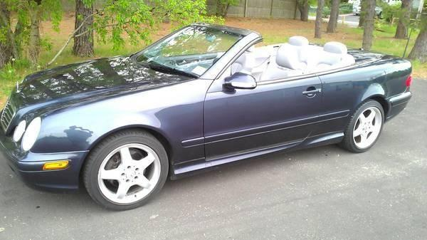 2002 mercedes benz convertible clk430 amg package low miles mint for sale in jackson new. Black Bedroom Furniture Sets. Home Design Ideas
