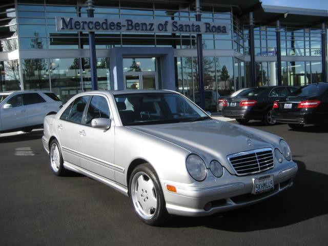 2002 Mercedes Benz E Class E55 Amg For Sale In Santa Rosa