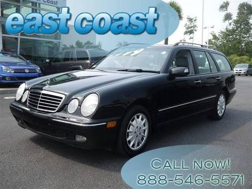2002 mercedes benz e class station wagon with cd and cruise and for sale in myrtle beach south. Black Bedroom Furniture Sets. Home Design Ideas
