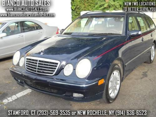 2002 mercedes benz e class wagon e320 73k miles awd for Mercedes benz under 10000 dollars