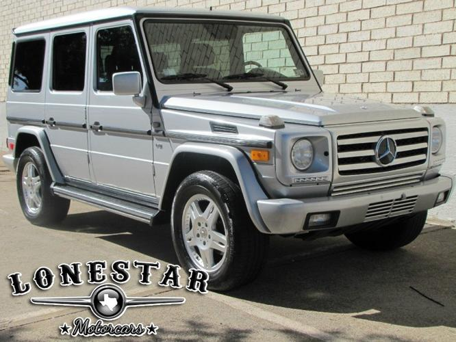 2002 mercedes benz g class g500 4dr 4wd 5 0l updated front for Mercedes benz dallas for sale