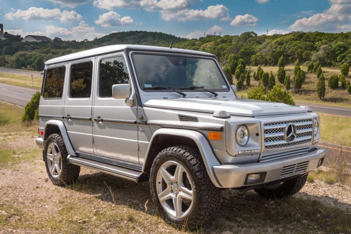 2002 mercedes benz g class silver for sale in beaumont texas classified. Black Bedroom Furniture Sets. Home Design Ideas