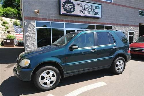 2002 mercedes benz ml320 suv for sale in naugatuck. Black Bedroom Furniture Sets. Home Design Ideas