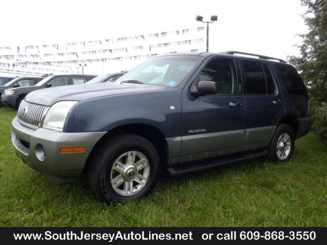 2002 mercury mountaineer for sale in bridgeton new jersey classified. Black Bedroom Furniture Sets. Home Design Ideas