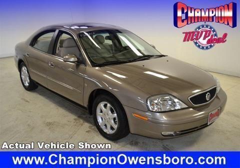 Champion Auto Owensboro >> 2002 MERCURY SABLE 4 DOOR SEDAN for Sale in Owensboro ...
