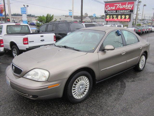 2002 mercury sable gs for sale in tacoma washington. Black Bedroom Furniture Sets. Home Design Ideas