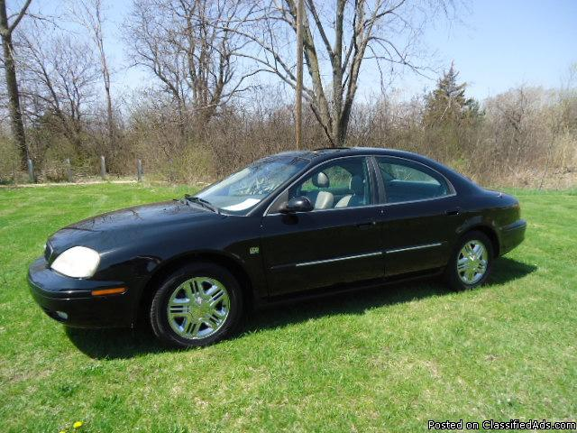 2002 mercury sable ls premium for sale in flint michigan. Black Bedroom Furniture Sets. Home Design Ideas