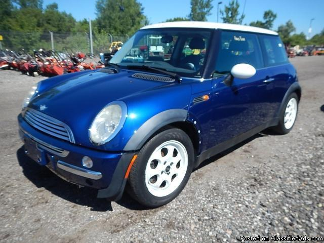 2002 mini cooper base for sale in byron center michigan classified. Black Bedroom Furniture Sets. Home Design Ideas