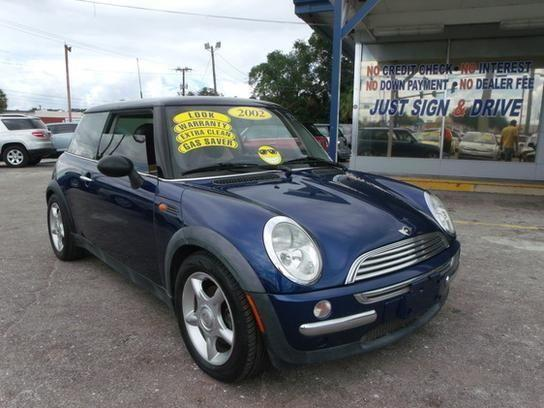 2002 mini cooper hardtop blue for sale in cocoa florida classified. Black Bedroom Furniture Sets. Home Design Ideas